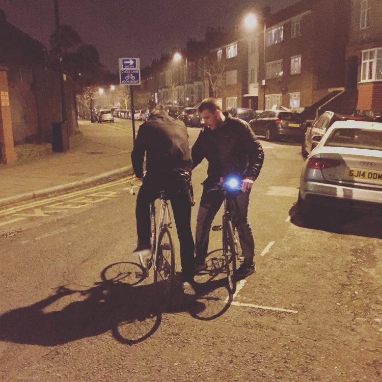 London Bikes - Cascade of Colour
