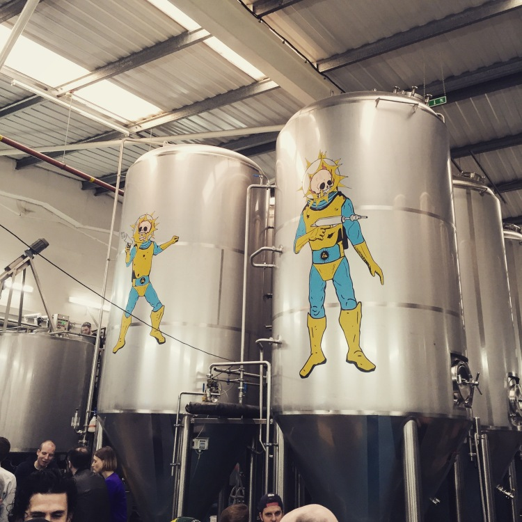beavertown brewery - cascade of colour blog