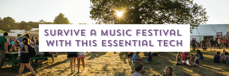 music festival essentials image